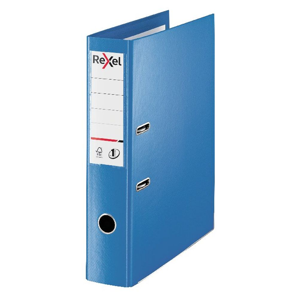 Rexel Choices Blue Foolscap 75mm Lever Arch File - 2115512