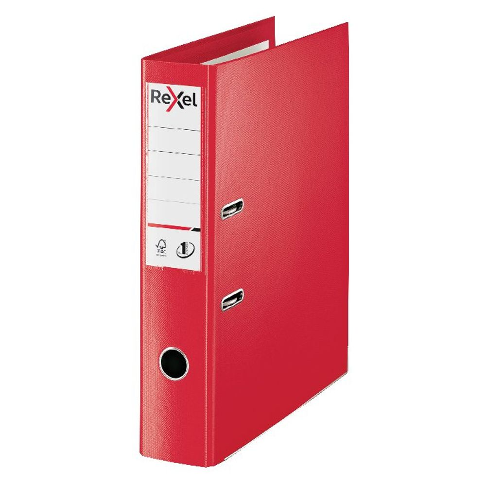 Rexel Choices Red Foolscap 75mm Lever Arch File - 2115513
