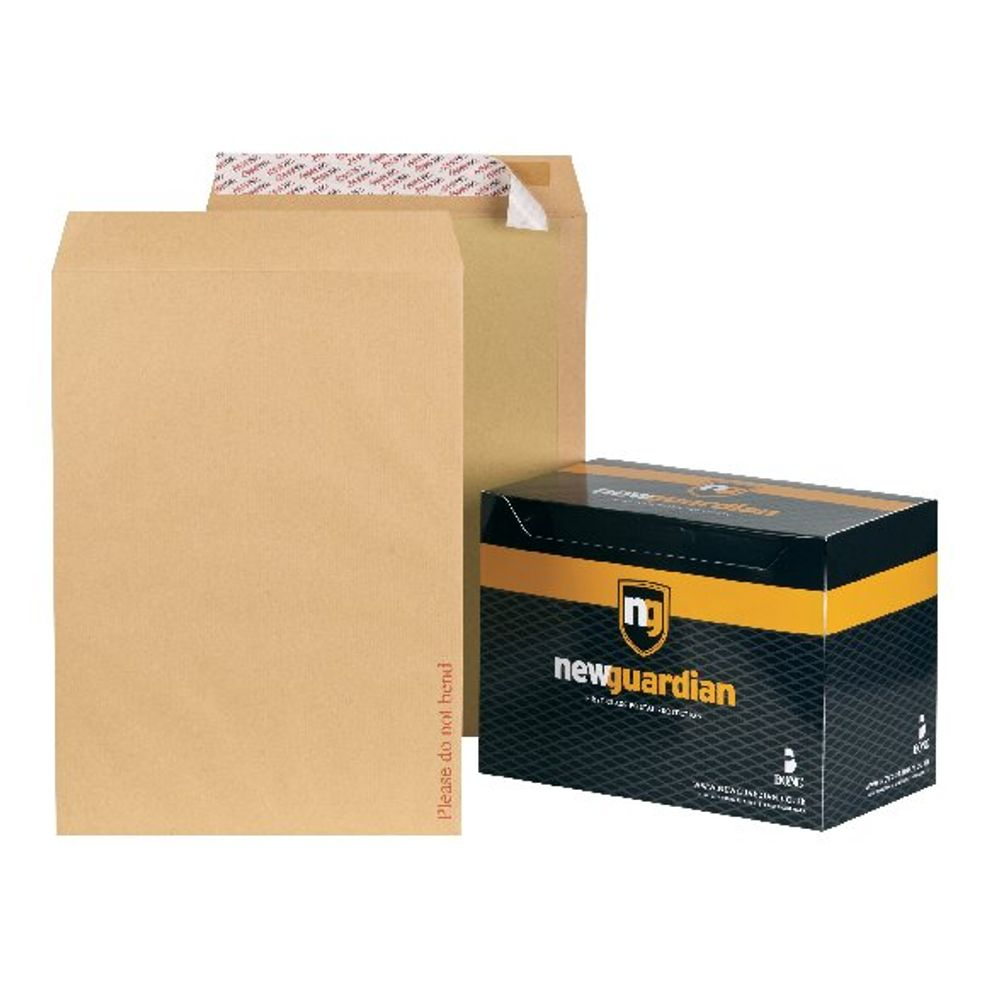 New Guardian C3 Board Backed Manilla Envelopes 130gsm - Pack of 50 - K27926