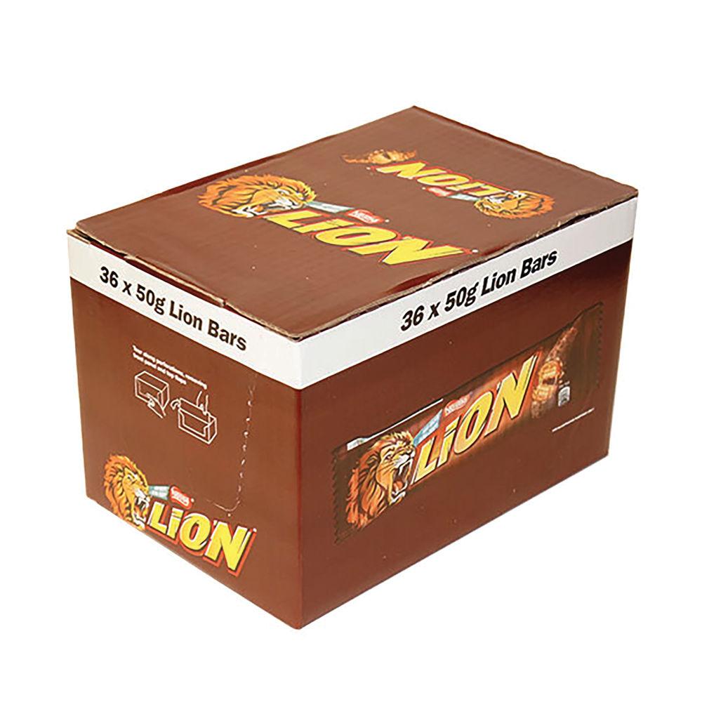 Nestle 50g Lion Bars, Pack of 36 - 12220743