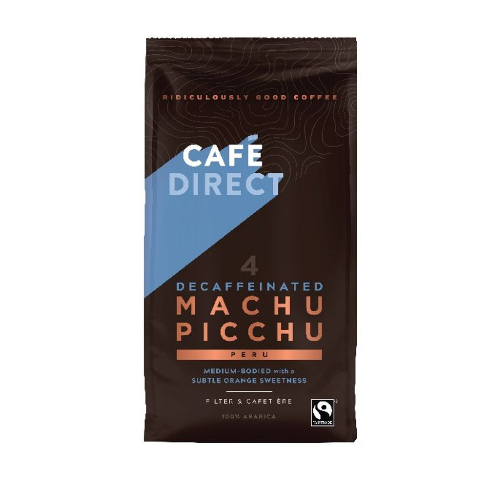 Cafedirect Fairtrade Organic Roast Ground Decaffeinated Coffee 227g TWI12028