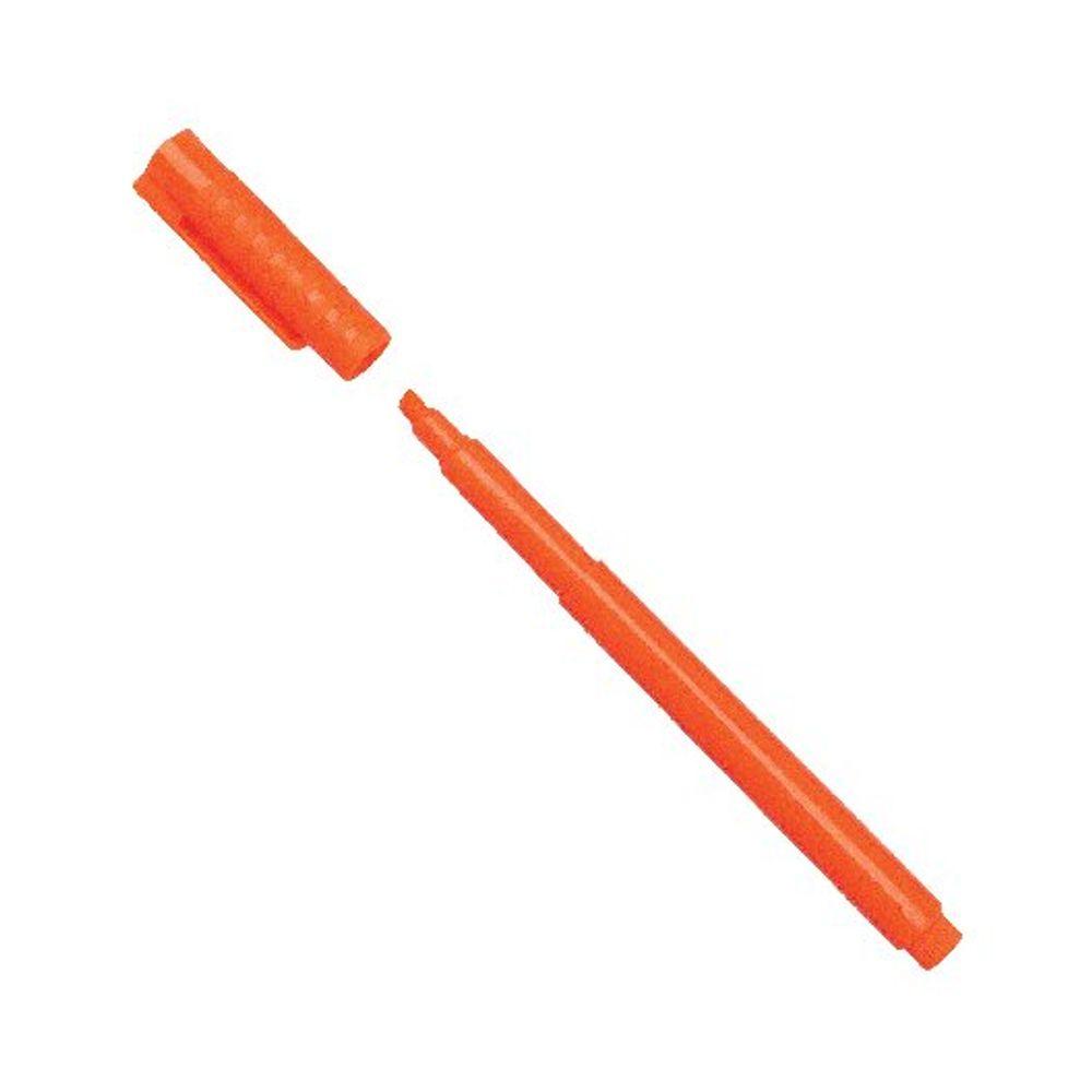 Orange Highlighter Pens, Pack of 10 - WX93205