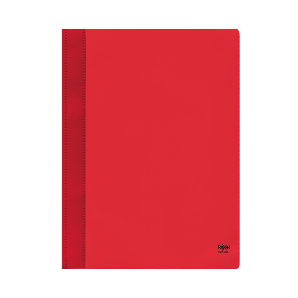 Rexel Nyrex Red A4 Boardroom Files - Pack of 5 - 13035RD