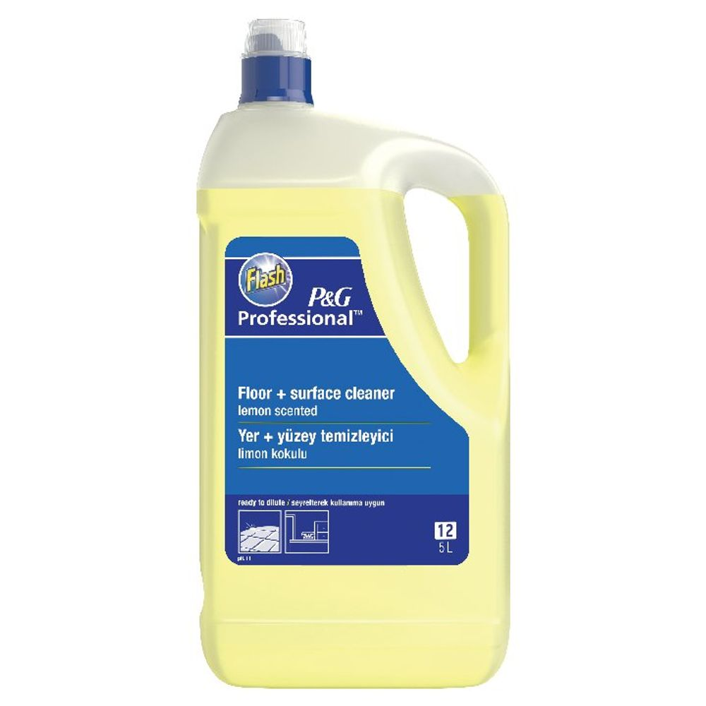 Flash Multi Surface and Floor Cleaner Lemon 5 Litre | 5413149200111