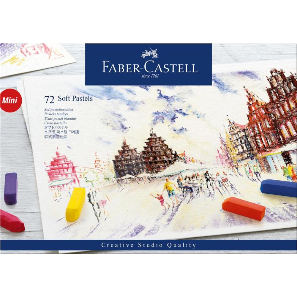 Faber-Castell Creative Studio Soft Pastels Box Of 72 FC128272