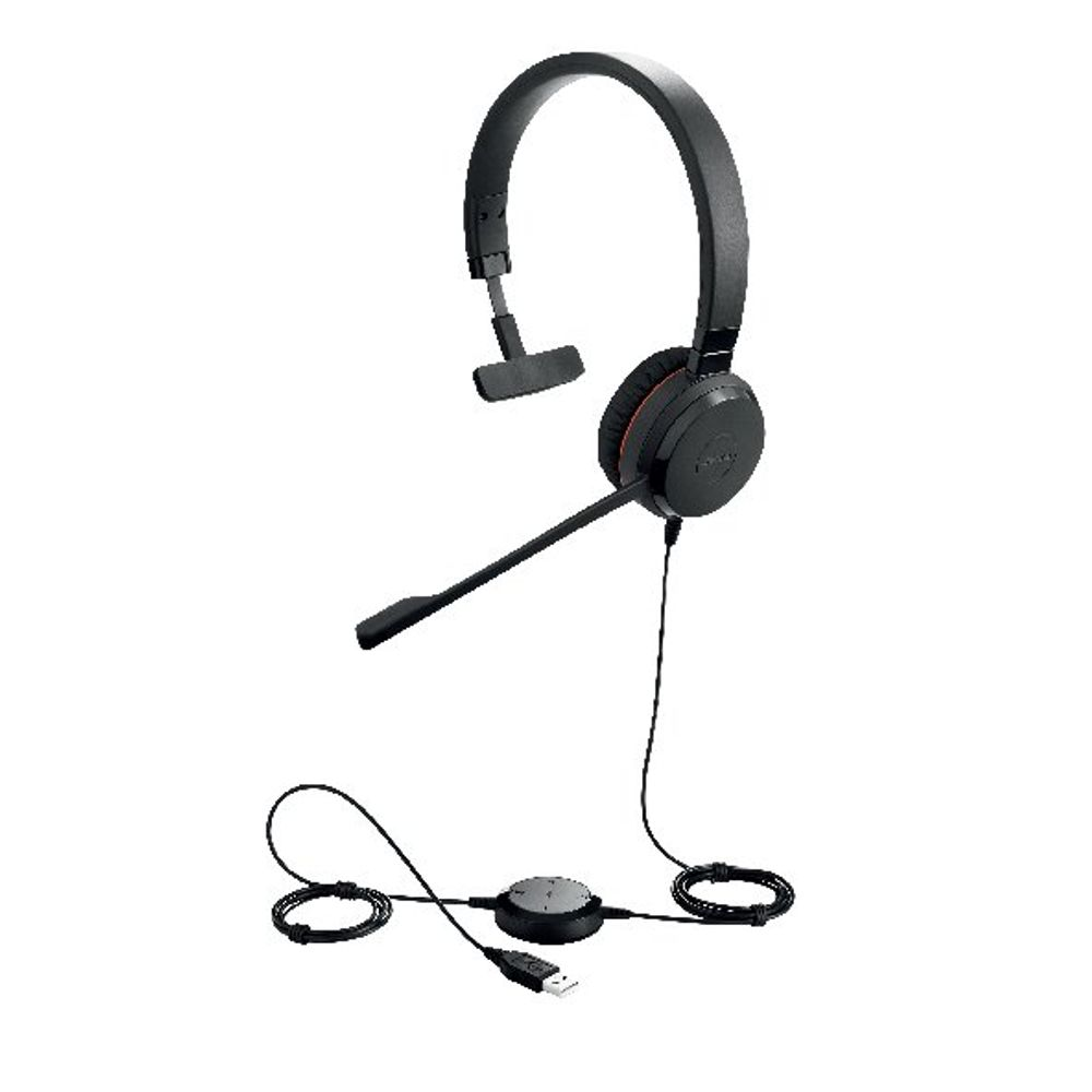 Jabra Evolve 30 II Stereo USB-A Corded Headset Unified Communication Version 5399-829-309