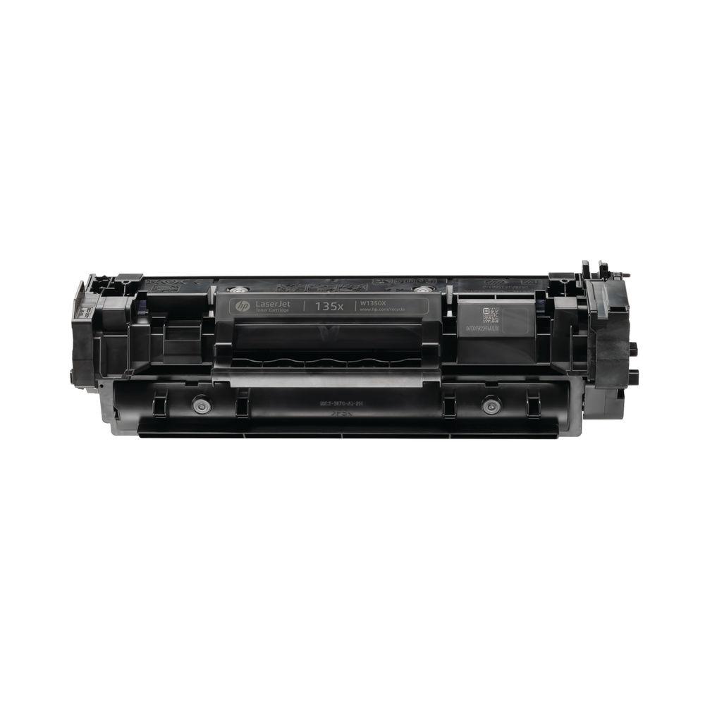 HP 135X High Yield Black Original LaserJet Toner Cartridge W1350X