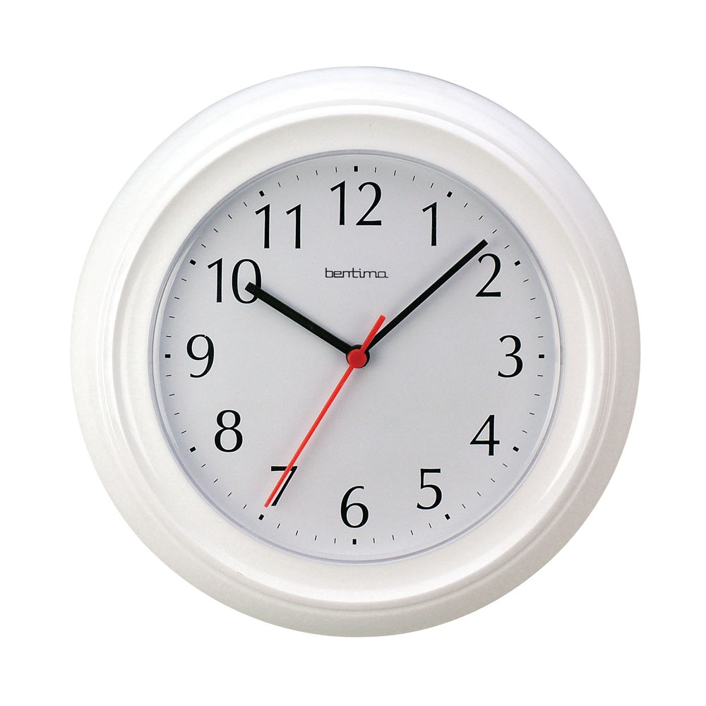Acctim Wycombe White Wall Clock – 21412