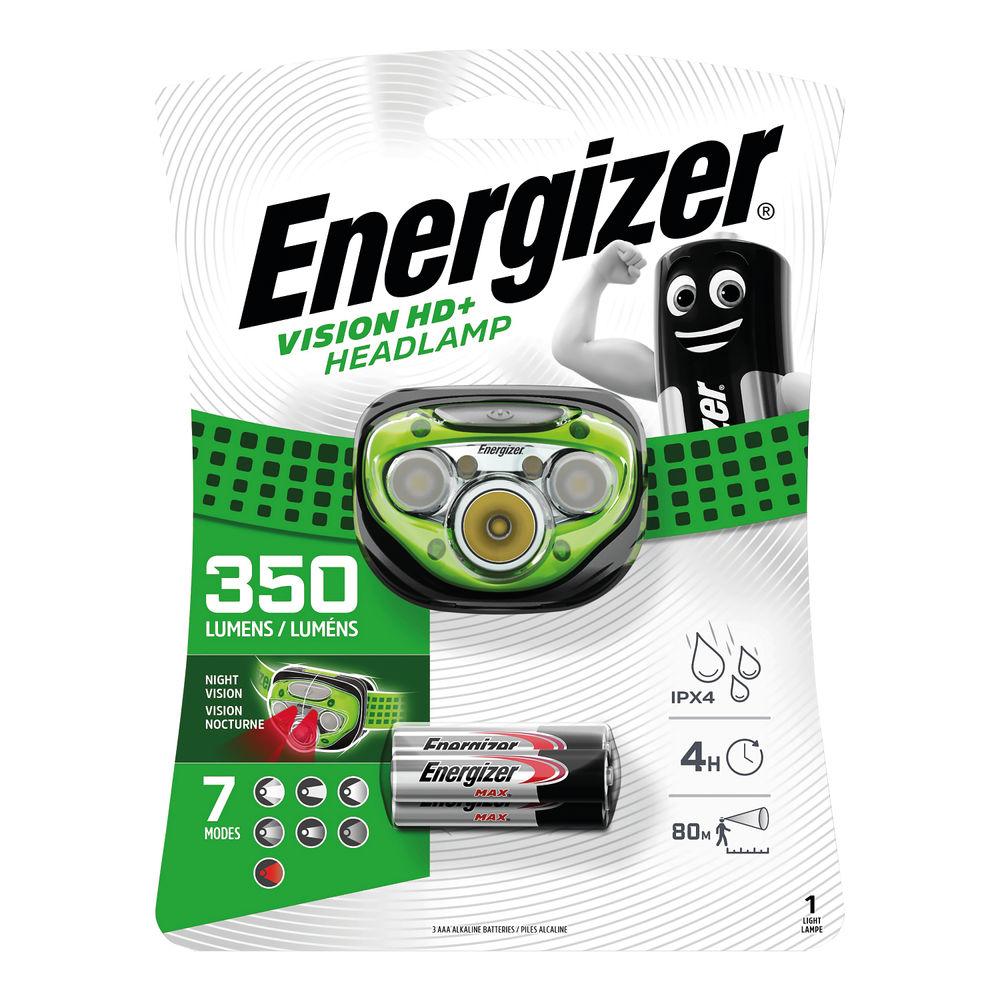 Energizer Vision HD Plus Headlight - E300280600