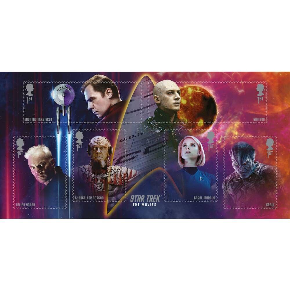 Star Trek The Movies Miniature Sheet