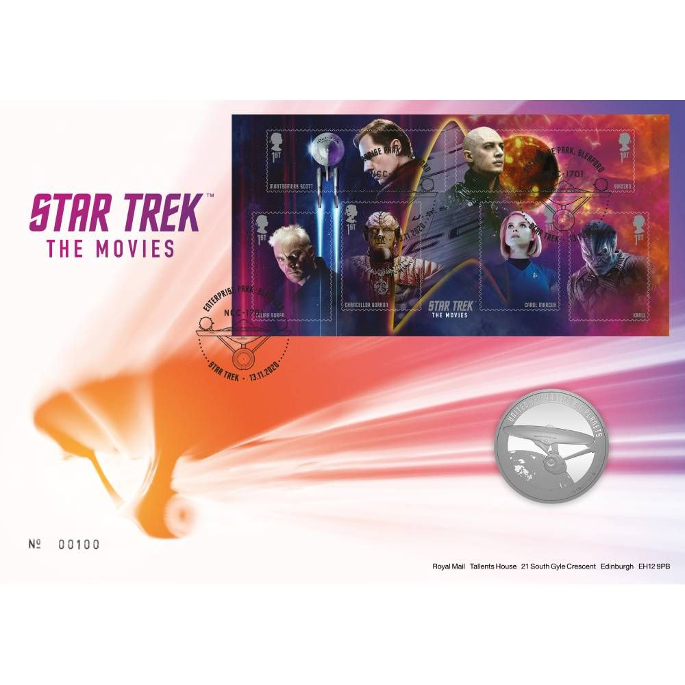 Star Trek The Movies Medal Cover