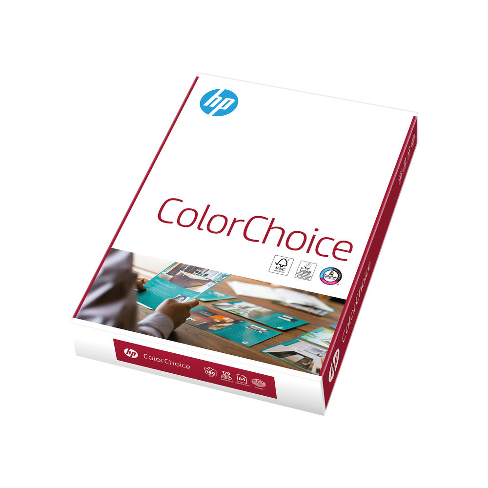 HP White A4 Color Choice 160 gsm Paper (Pack of 250) - CHPCC160X414
