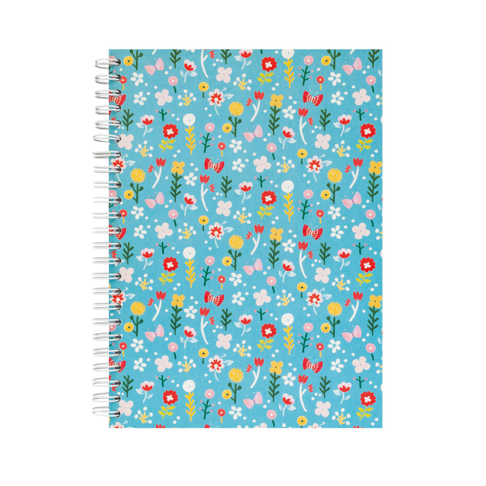 VINTAGE DITSY A5 NOTEBOOK