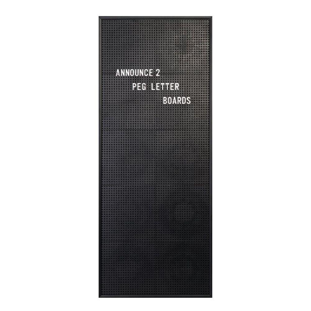 Announce 310 x 767mm Peg Letter Board - 1/ECON-2/VC/EC-KIT692