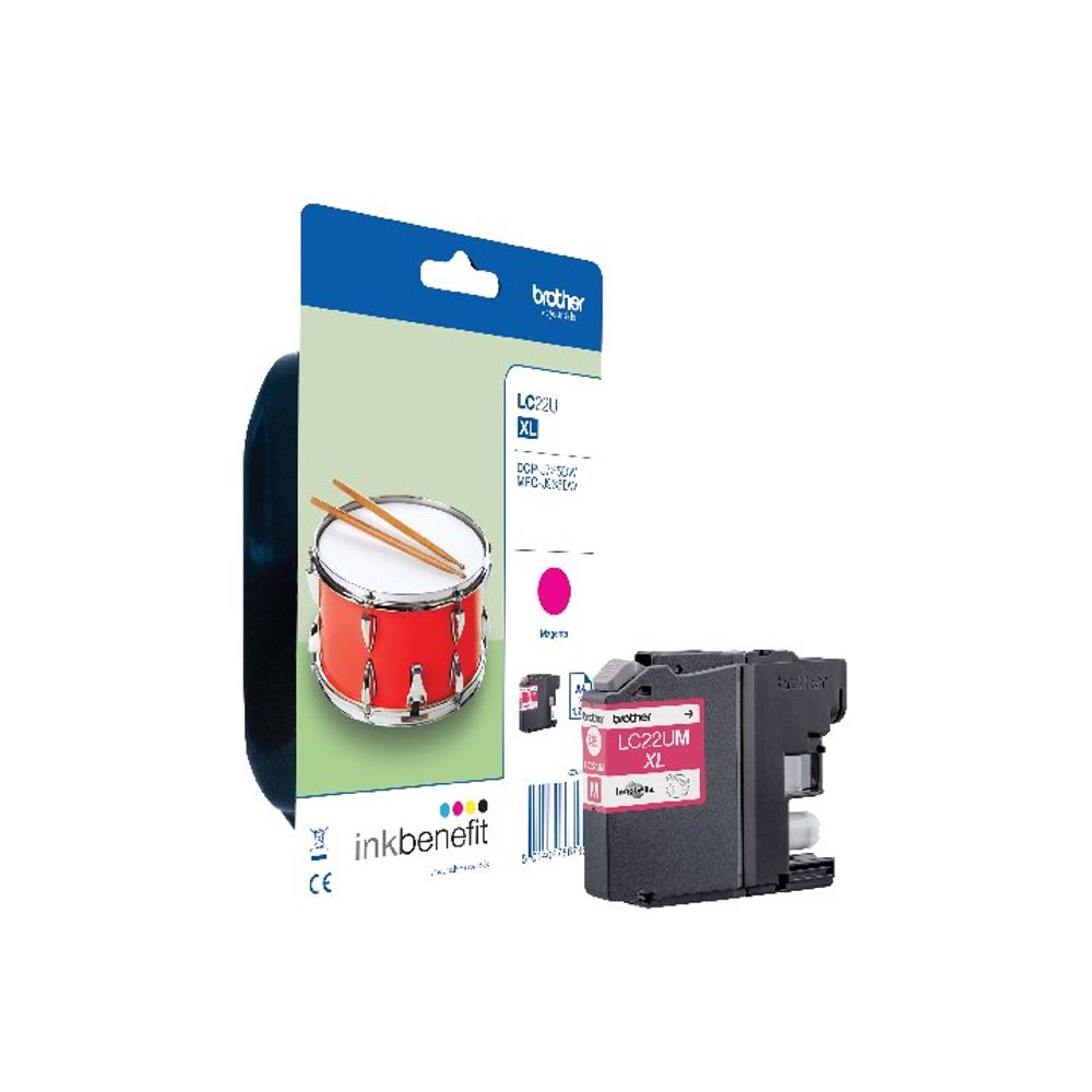 Brother LC-22 Magenta Ink Cartridge - LC22UM