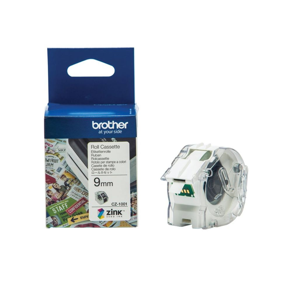 Brother Label Roll 9mm x 5m - CZ1001