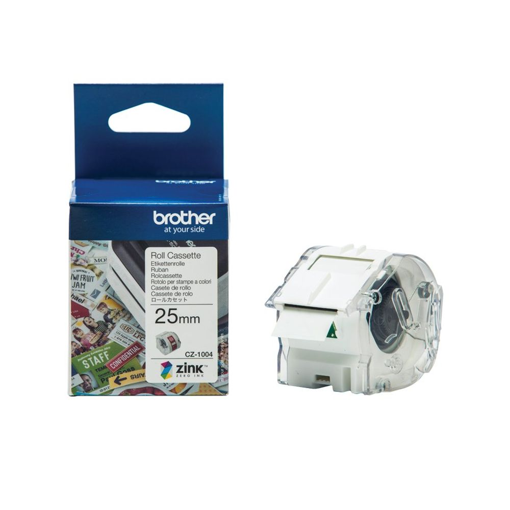Brother Label Roll 25mm x 5m - CZ1004