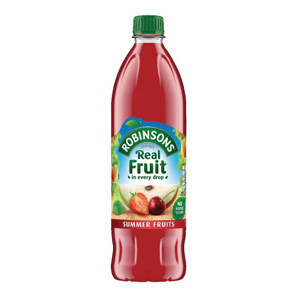 Robinsons 1 Litre No Added Sugar Summer Fruits Squash - 206937