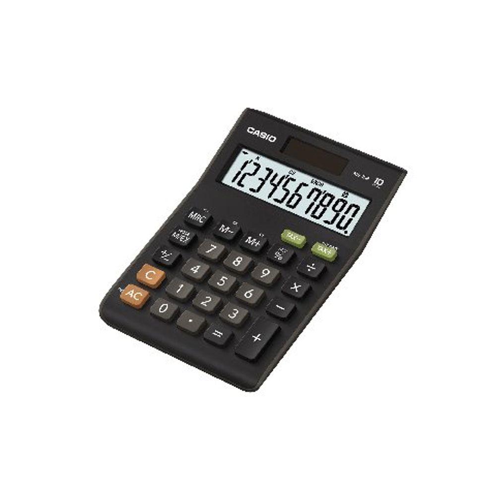 Casio MS-10B 10 Digit Desktop Calculator - MS-10B-S-EC
