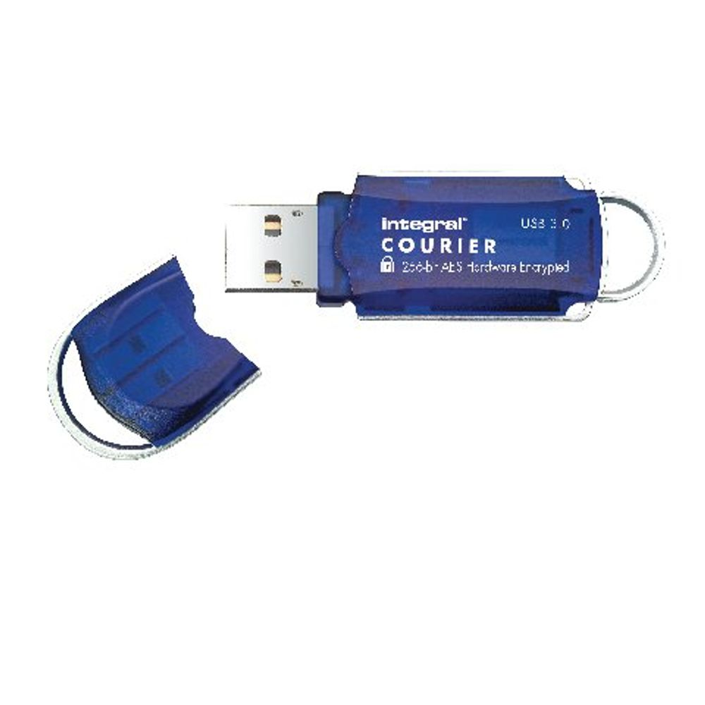 Integral Courier Encrypted USB 3.0 8GB Flash Drive - INFD8GCOU3.0-197