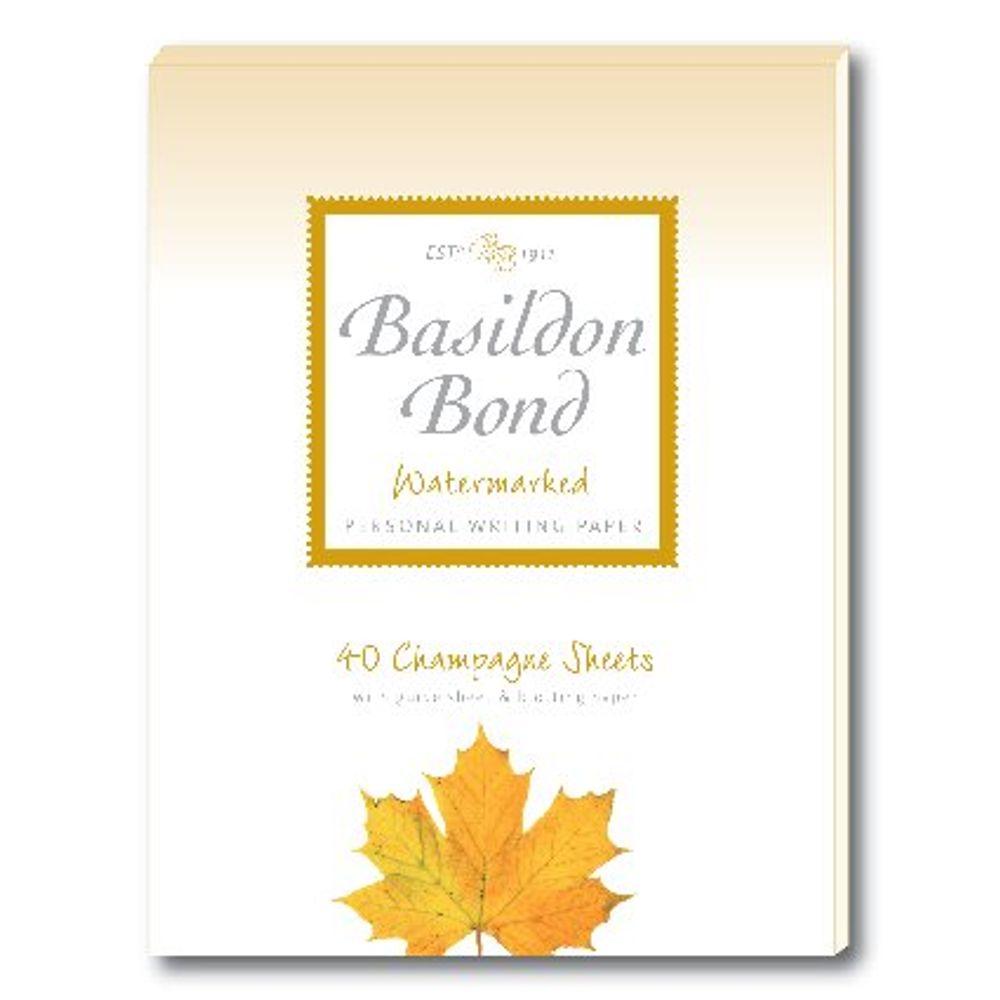 Basildon Bond Duke Writing Pad, Champagne, 178 x 137mm, Pack of 10 - JD90361