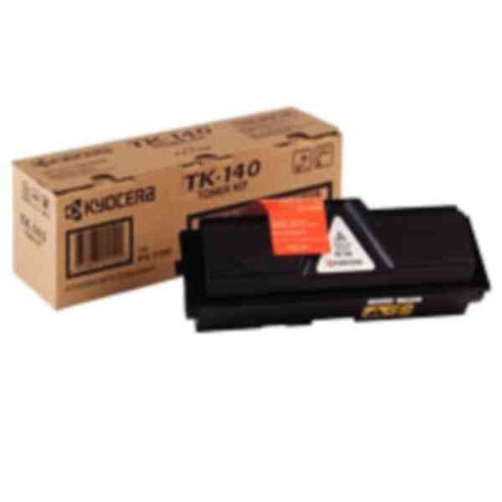 Kyocera TK-140 Black Toner Cartridge (4,000 Page Capacity)