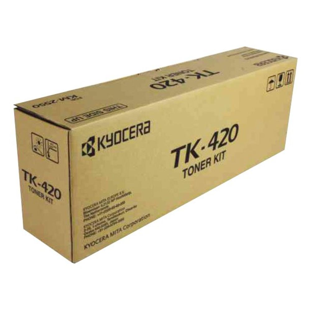 Kyocera TK420 Black Toner Cartridge - TK-420