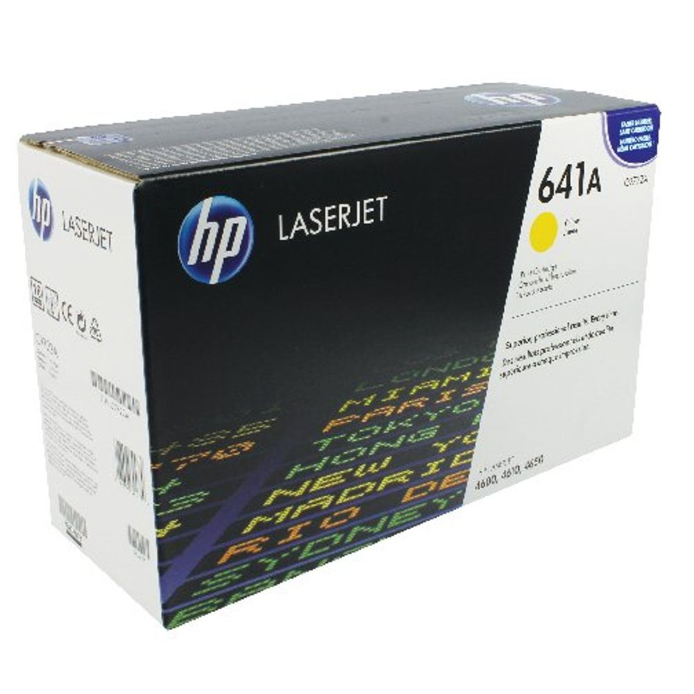 HP 641A Yellow Toner Cartridge - C9722A