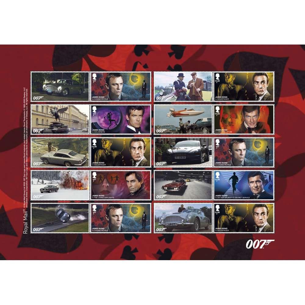 The James Bond Collectors Sheet