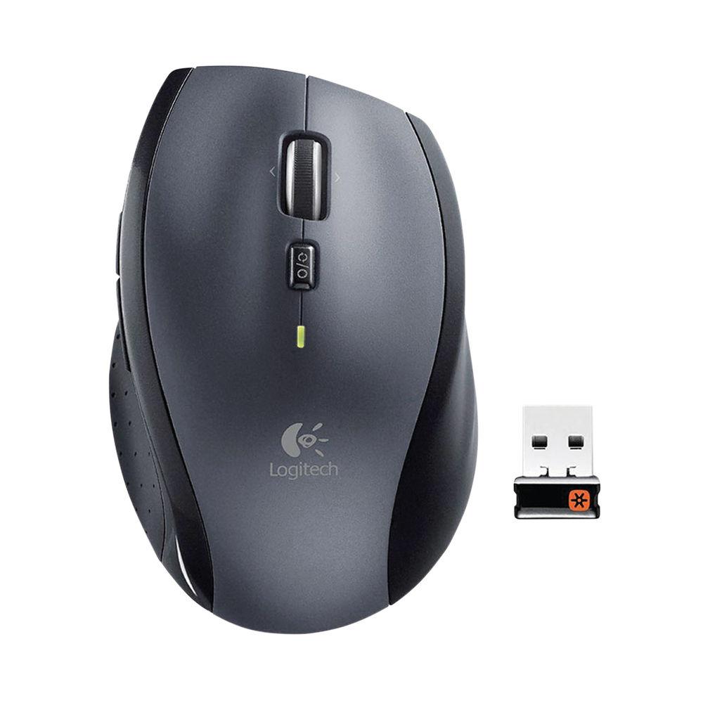 Logitech M705 Wireless Mouse Silver 910-001949