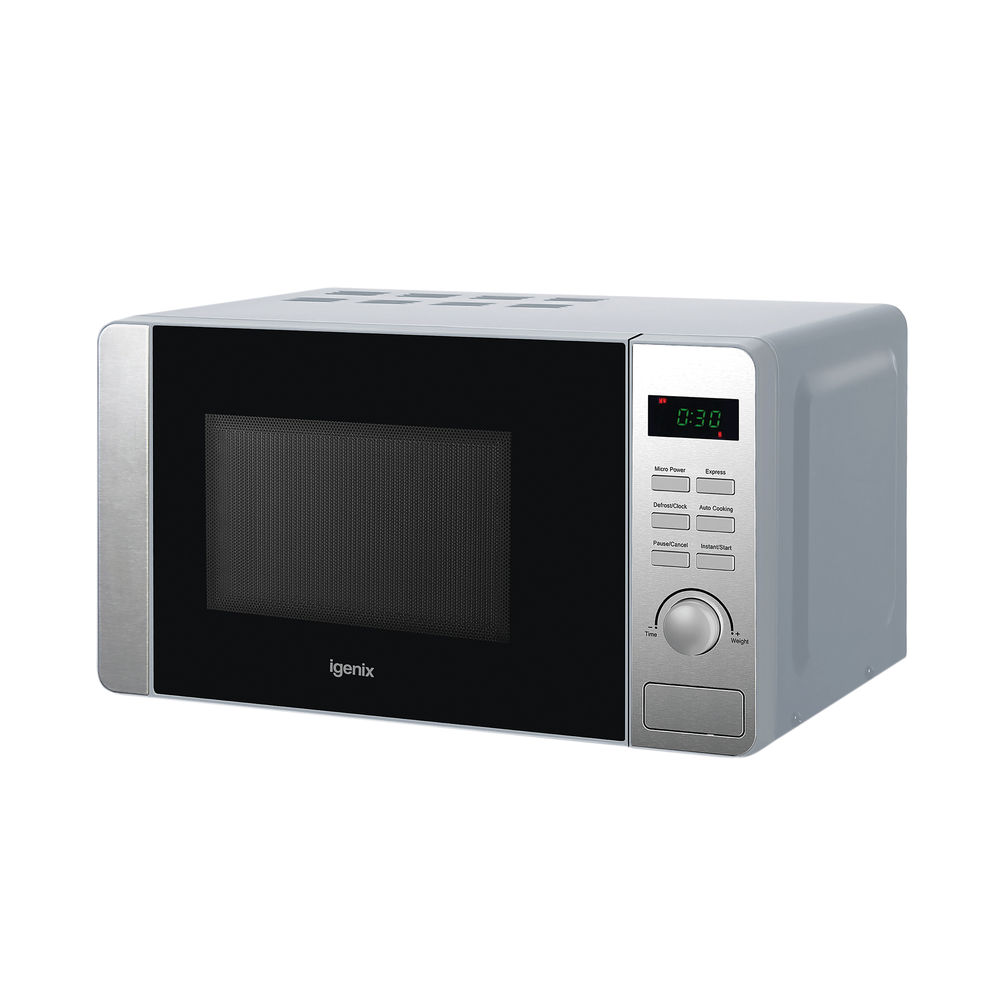 Igenix 20 Litre 800w Digital Microwave Stainless Steel IG2060