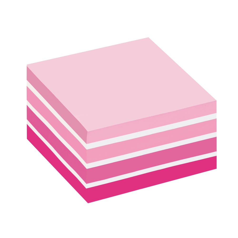 Post-it Notes Pink 76 x 76mm Colour Cube - 2028 P