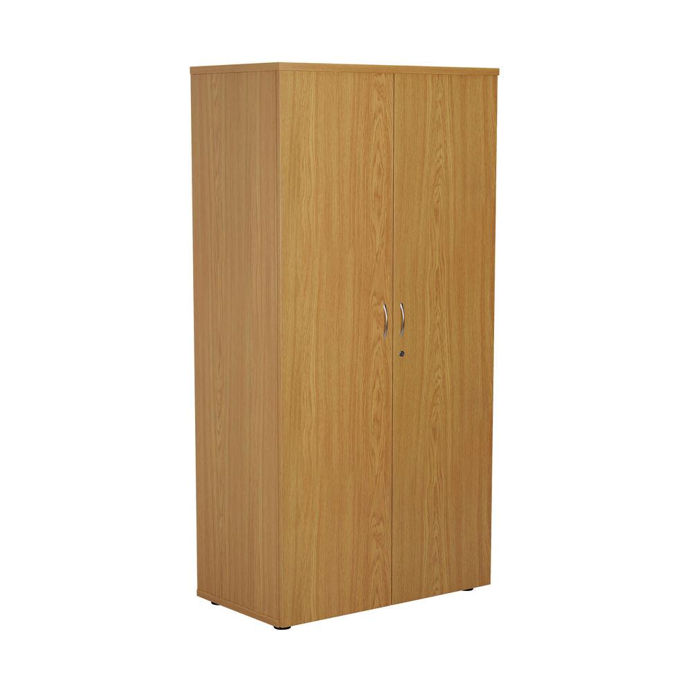 First 1600mm Nova Oak Wooden Storage Cupboard