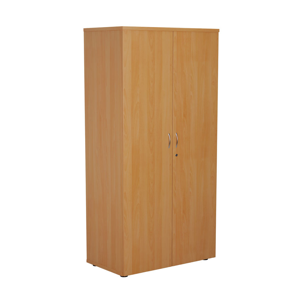First 1600mm Beech Wooden Storage Cupboard