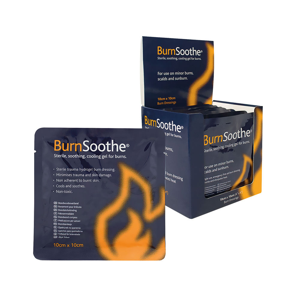 Reliance Medical BurnSoothe Burn Dressing 100 x 100mm (Pack of 10) 394