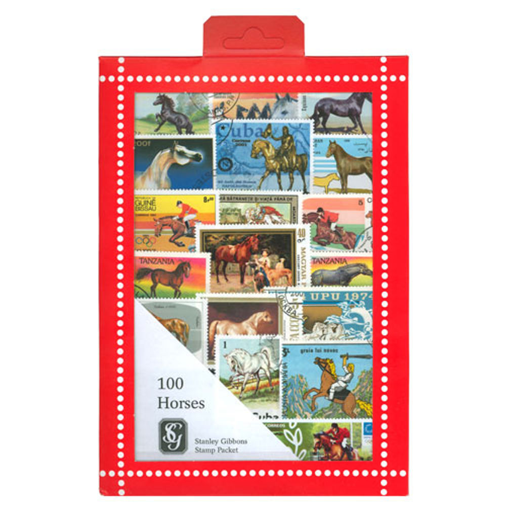 Horse Stamps Collection, 100 Stamps - R3660
