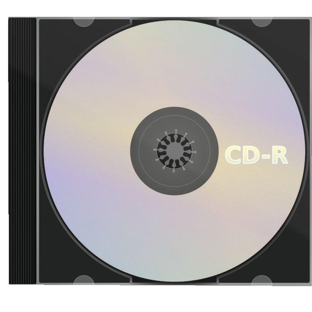 CD-R Slimline Jewel Case 80min 52x 700MB (Recordable with 52x write speed)