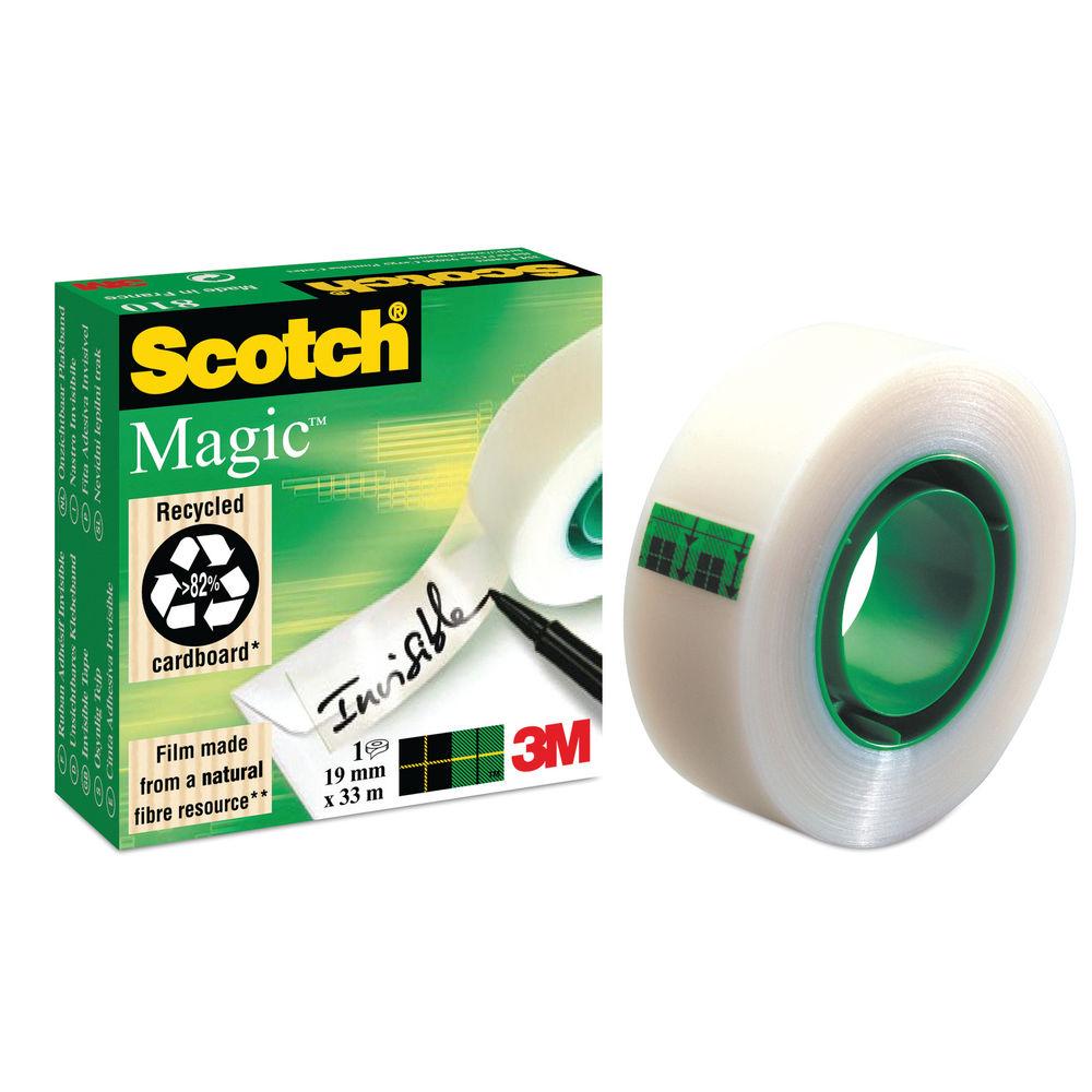 Scotch Tape - 12mm x 33m Magic Invisible Tape Roll - NM1V