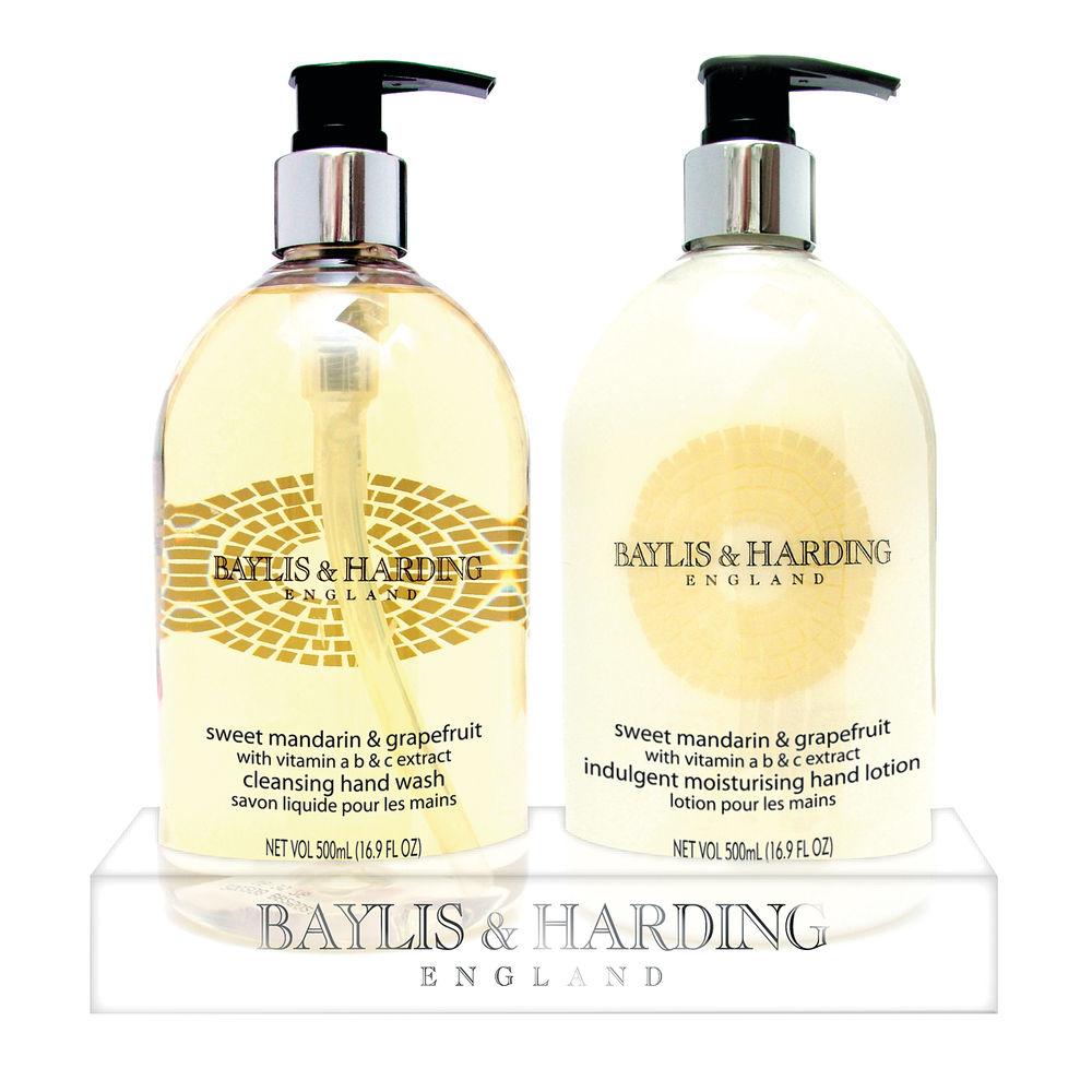 Baylis  Harding Mandarin and GrapeFruit Wash and Lotion Tray 0604243