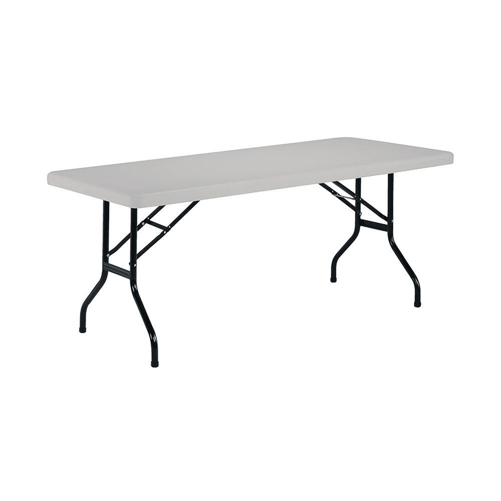 Jemini 1220mm White Folding Rectangular Table