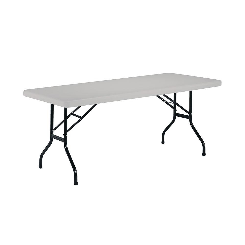 Jemini 1210mm White Folding Rectangular Table - OF0402WH