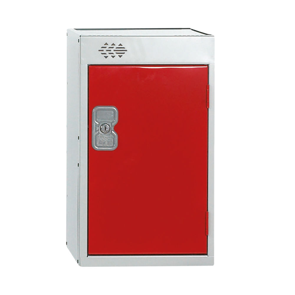 One Compartment D450mm Red Quarto Locker - MC00083