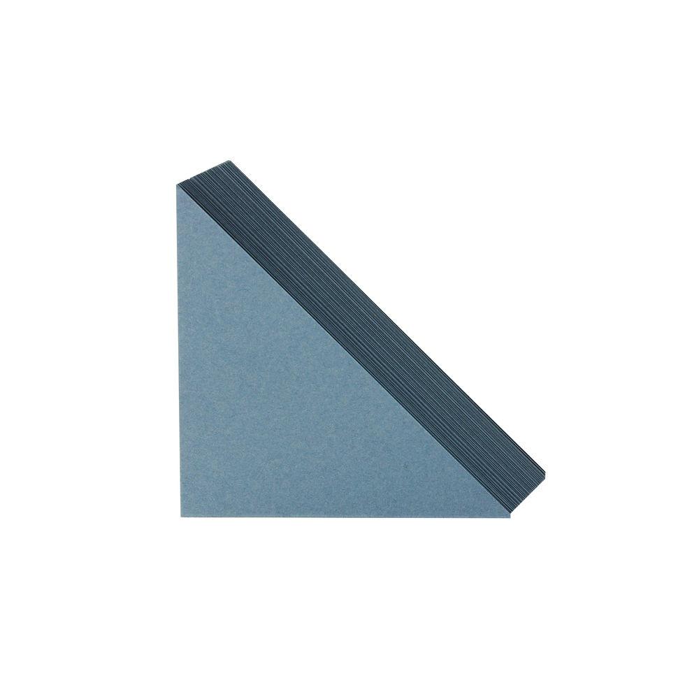 Guildhall Blue Legal Corners, Pack of 100 - GLC-BLU