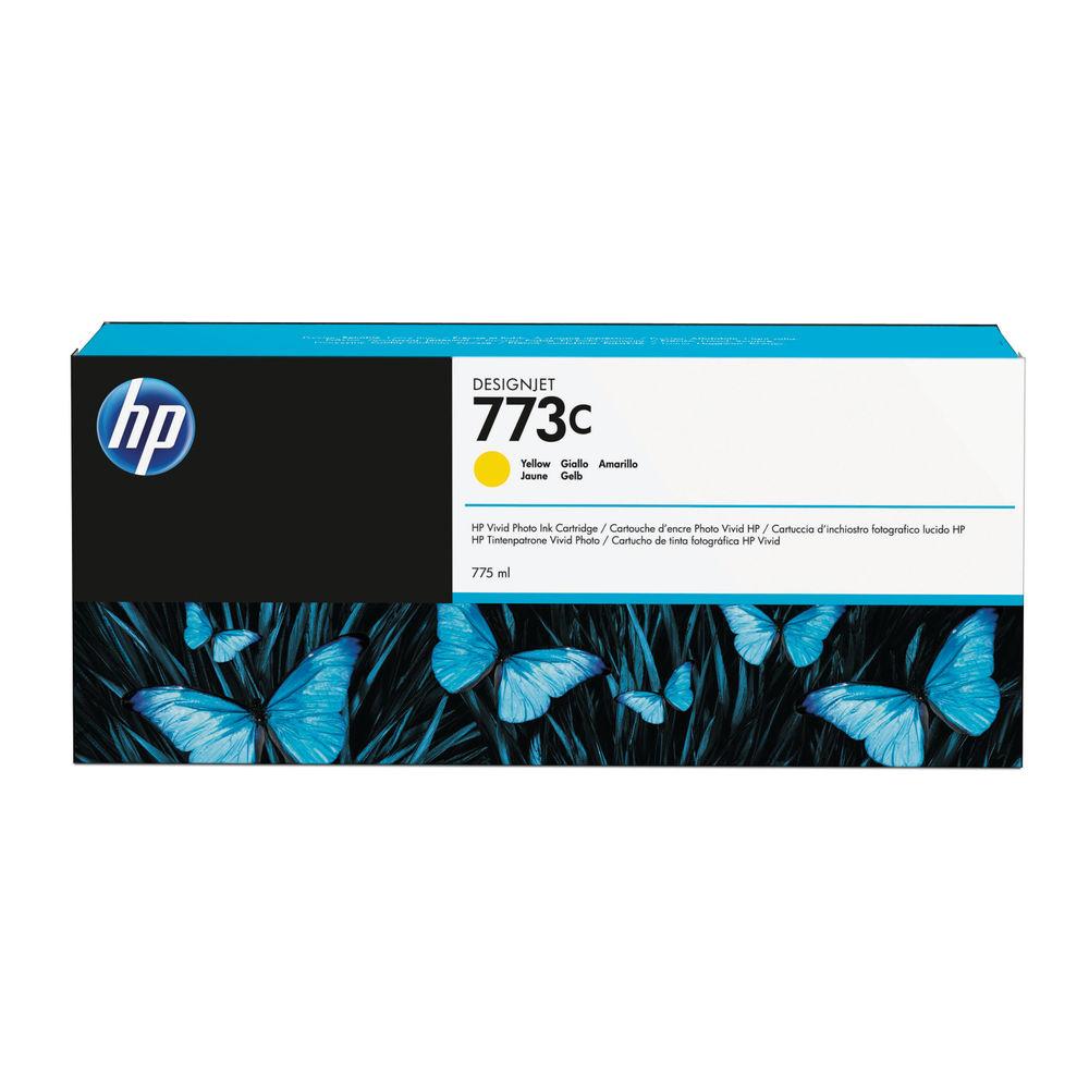 HP 773C Yellow Ink Cartridge C1Q40A