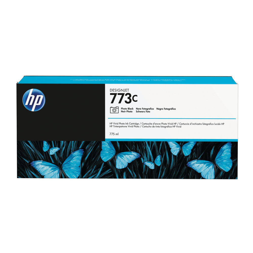 HP 773C Photo Black Ink Cartridge C1Q43A