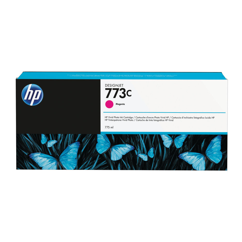 HP 773C Magenta Ink Cartridge - C1Q39A