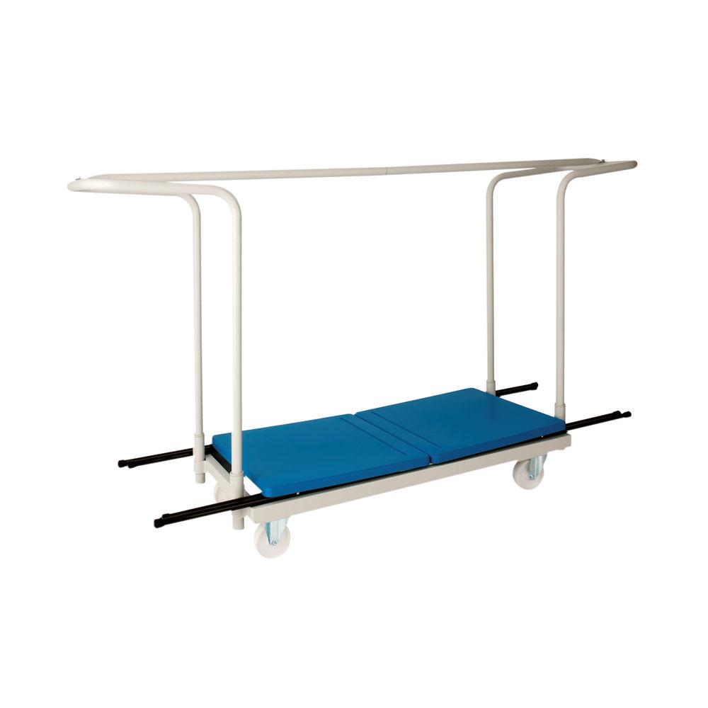 Titan 40 Desk Folding Exam Desk Trolley