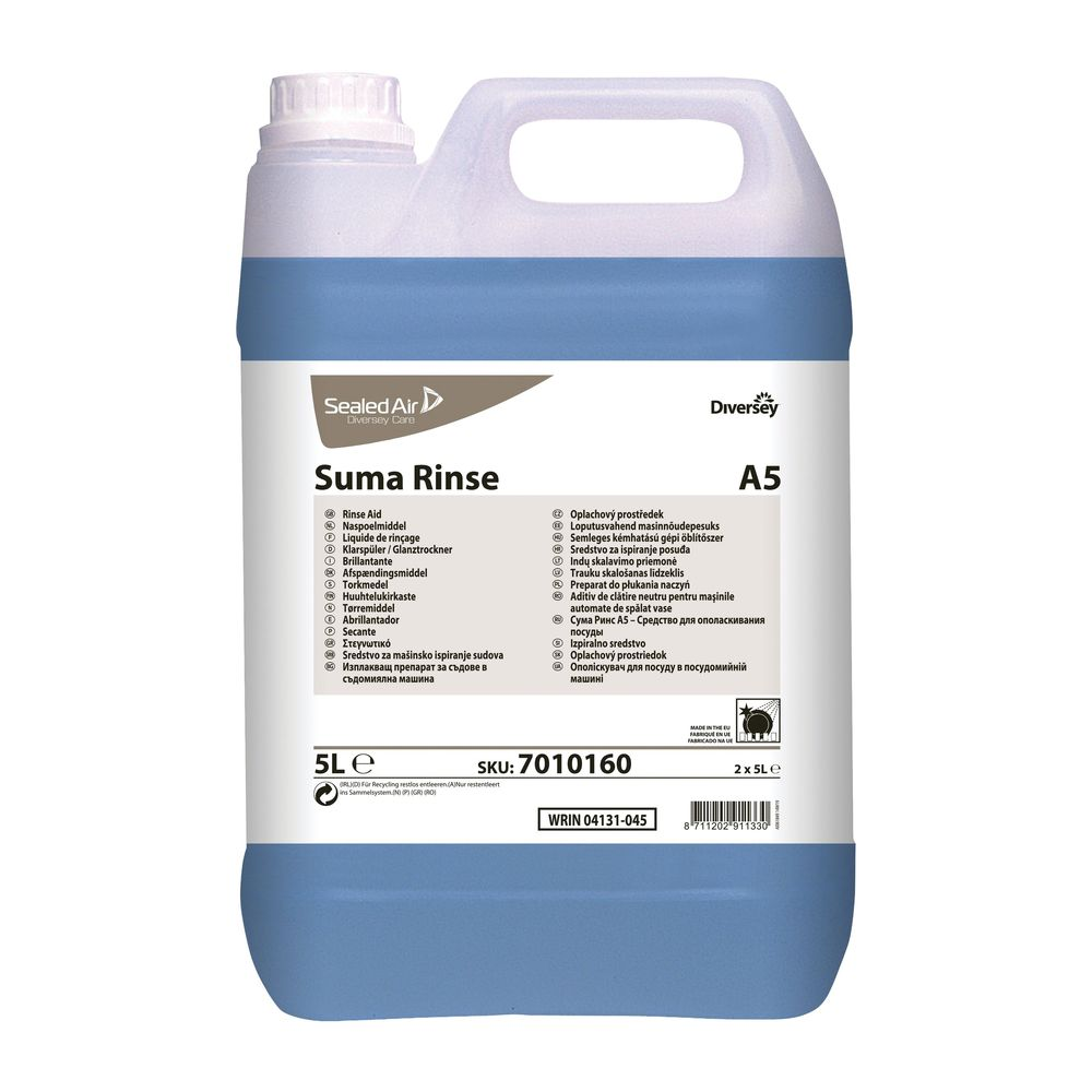 Diversey Suma Rinse Aid 5 Litre (Pack of 2) 7010160