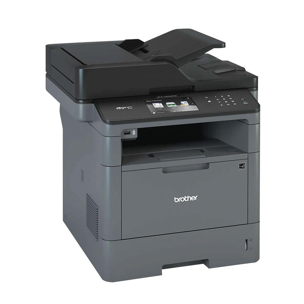 Brother Mono Multifunction Laser Printer Grey - MFC-L5750DW