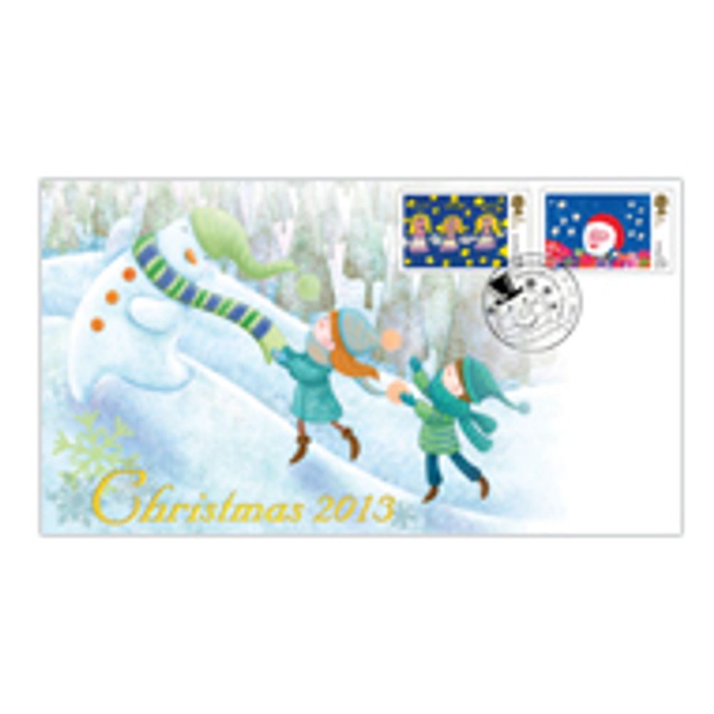 Christmas 2013 Stamp Design Winners First Day Cover - BC473C